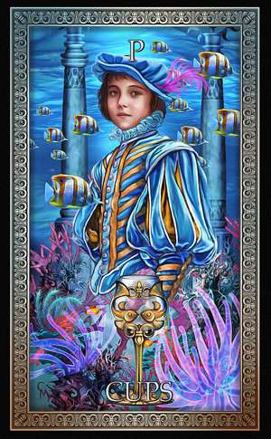Tarot Grand Luxe, Sample Deck card #3