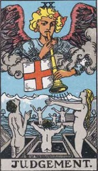 Judgement Tarot card meaning and interpretation