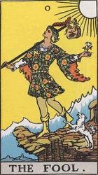 The Fool Tarot card meaning and interpretation