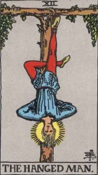 The Hanged Man Tarot card meaning and interpretation