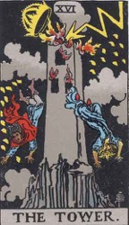 The Tower Tarot card meaning and interpretation