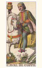 Marseilles Knight of Cups Tarot card meaning and interpretation