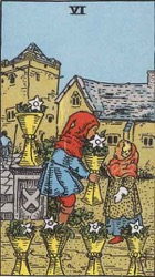Six of Cups Tarot card meaning and interpretation
