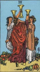 Three of Cups Card Meaning