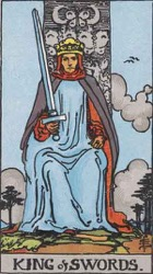 King of Swords Tarot card meaning and interpretation